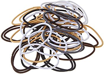 50-Count Goody Women's Hair Ouchless 2 mm Elastics