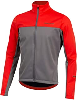 PEARL IZUMI Men's Quest AmFIB Cycling Jacket, Torch Red/Smoked Pearl, Large