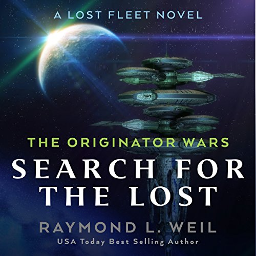 The Originator Wars: Search for the Lost audiobook cover art