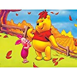5D Diamond Painting Full Kit,Winnie The Pooh 5D DIY Diamond Painting Kits for Adults Full Drill Painting Rhinestone Embroidery Pictures Cross Stitch Arts Crafts for Home Wall Decor,16'X12'