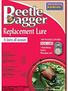 Bonide Beetle Bagger Replacement Dual Release Lure (For Japanese Beetle Traps)
