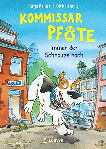 Kommissar Pfote (Band 1) - Immer der Schnauze nach: Polizei-Buch für Erstleser ab 6 Jahre