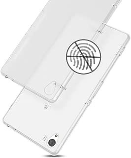 WOEXET SONY Xperia Z3専用ケース SOL26/SO-01G/401SO TPUカバー 手触り良い 薄型軽量 滑り防止 指紋防止 散熱加工 ソフトケース ホワイト