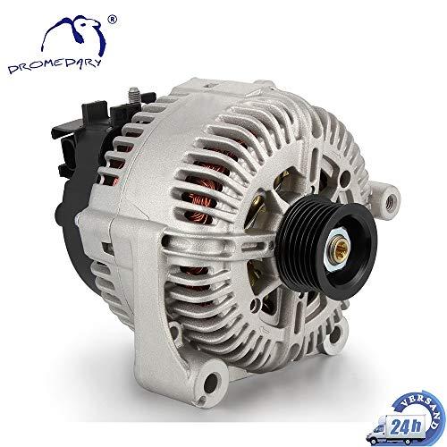 Dromedary 12317789981 Lichtmaschine Generator mit Keilrippenriemenscheibe 3er E90 E92 5er E60 E61 6er E63 E64 7er E65 E66 E67