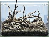 Sera 32335 Hardscape Shrimp Ideal para 48 L Scaper Cube – Piedras, raíces y Tierra para acuarios de gambas.
