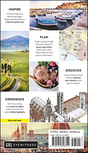 DK Eyewitness Florence and Tuscany (Travel Guide) - 51R7vz3Si8L