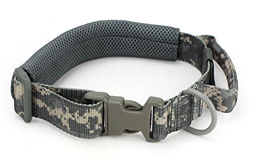 Military Tactical Nylon Verstellbare Hundehalsband Jagd Airsoft Paintball Hund Training Zubehör