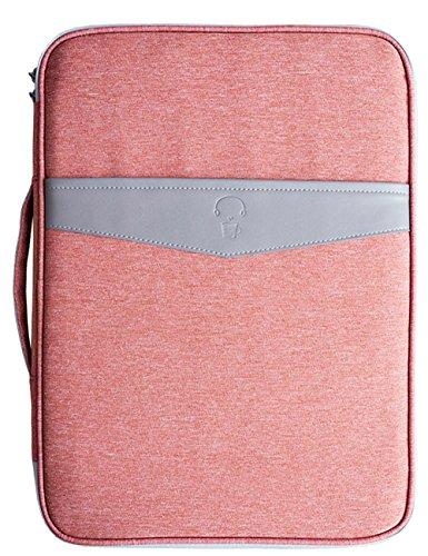 Mygreen Universal Travel Gear Organizer / Electronics Accessories Bag / Document File Bag (Office&Travel, Brick Red-602)
