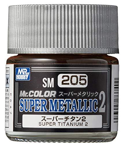GSIクレオス Mr.スーパーメタリック2 スーパーチタン2 10ml 模型用塗料 SM205
