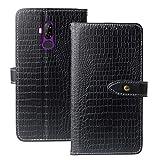 Lankashi Premium Handy Leder Tasche Hülle TPU Silikon Für Ulefone Power 3L / P6000 Plus 6