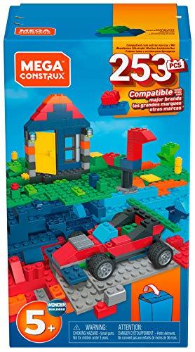 Mega Construx GKR26 - Bausteine-Box, Bauset mit 253 Teilen, für Kreative Kinder ab 4 Jahren