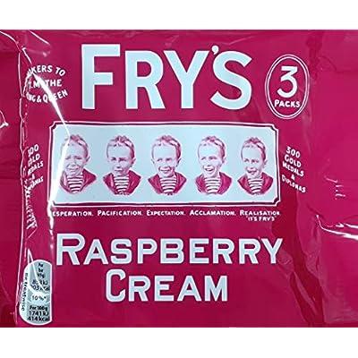 fry's raspberry cream, 3 pack Fry's Raspberry Cream Chocolate Bar 3 Multipack 147g 51R7zLyDteL