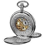 Akribos AK609SS - Reloj de Bolsillo