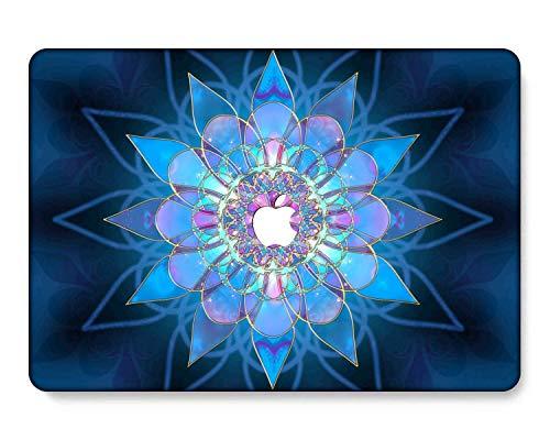 GangdaoCase Carcasa rígida de plástico ultra delgada para MacBook Pro de 13 pulgadas con/sin barra táctil/Touch ID A2338 M1/A2289/A2251/A2159/A1989/A1706/A1708 (flor 72)