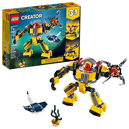Bonbell Lego Creator 31090 - Robot subacuático (207 piezas)