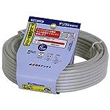 日本アンテナ テレビ配線ケーブル S4CFB 15m (ライトグレー) S4FB15(H)