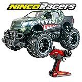 Ninco- NincoRacers Ranger Racers Monster Truck Voiture Télécommandée. avec Lumière. 2.4GHz. Mesure: 30 cm x 19 cm x 16 cm. +6 Ans, NH93120, Vert, Sin Talla