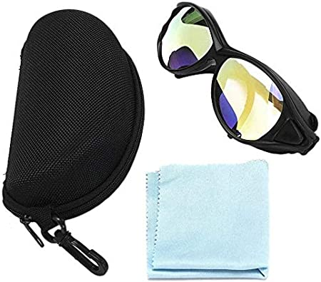 LLDKA Gafas láser, Dobles, Profesionales, Gafas de Seguridad claras, adecuadas para una Variedad de láseres