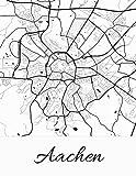 Aachen: Deine Stadt, deine Region, deine Heimat!   Notizbuch DIN A4 kariert 120 Seiten Geschenk (German Edition)
