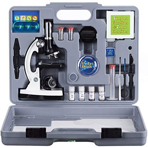 AmScope 120X-1200X 52-pcs Kids...