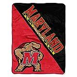 The Northwest Company Maryland Terrapins 'Halftone' Micro Raschel Throw Blanket, 46' x 60' , Red