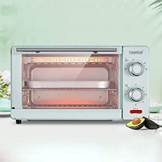 Multifunción Horno Eléctrico, Máquina De Hornear Hogar Pequeño, Adecuado For La Carne De Pizza Tarta De Huevo Asar 11L 1000W / C / 360×265×205mm
