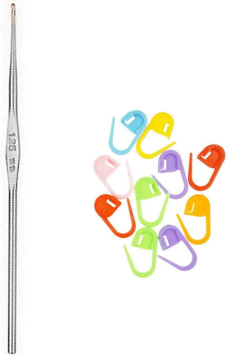 addi Knitting Needles Crochet Hook Steel 5 US Max 55% OFF Free shipping on posting reviews Size 1 inch 13cm