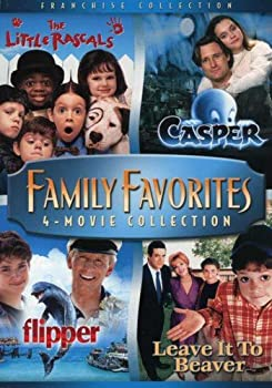 Family Favorites 4 Movie Collection  The Little Rascals / Casper / Flipper / Leave it to Beaver