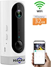 [32GB Storage] Home Security Camera,Rechargeable Battery Operated,Two Way Audio,Night Vision,Multi-People Remote,2.4GHz WiFi,Indoor for Baby/Pet/Nanny 6 Months PIR Motion Record