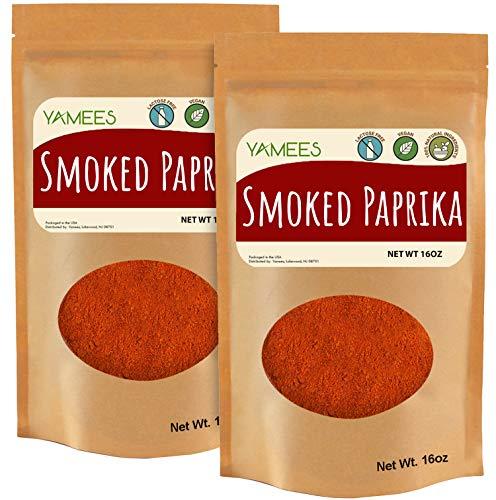 Smoked Paprika - 32 oz (16 oz/ 1 Lb Each) -Paprika Powder - Paprika Bulk - Smoked Paprika Powder - Smoke Paprika - Bulk Spices