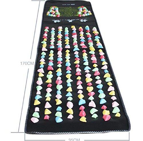 【ノーブランド品】足つぼマット足つぼマッサージシートフットマッサージマット170CM/V138