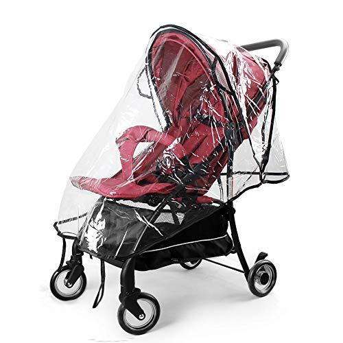 Infreecs Universal Kinderwagen Regenschutz für Buggy und Sportwagen Komfort Regenschutz, Gute Luftzirkulation, Einfache Montage, Schadstofffrei