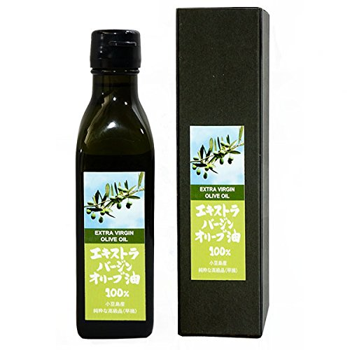 小豆島産 エキストラバージン オリーブオイル 200ml (182g) 国産 オリーブ油