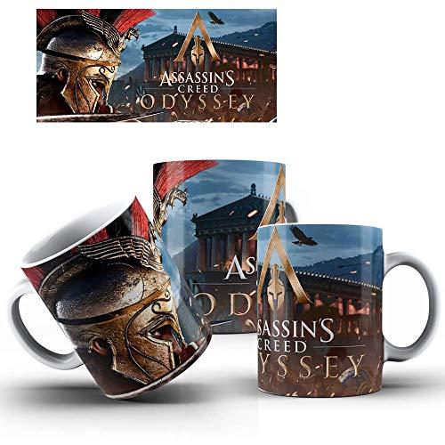Caneca de Porcelana Presente Assassin's Creed Odyssey mod.54