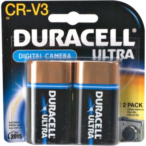 Duracell CRV3 Camera Battery, 3 Volt Lithium (2 Batteries)