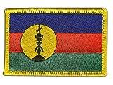 Flaggen Aufnäher Frankreich Neukaledonien Kanaky Fahne
