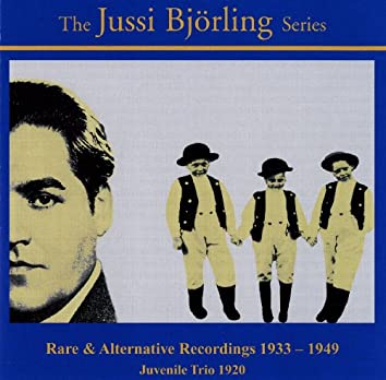 The Jussi Bjorling Series (1933-1949)