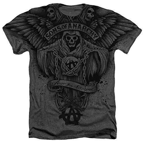 Sons of Anarchy, camiseta para hombre con diseño de la Muerte...
