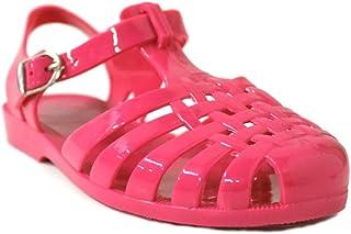 8050936537d7 Kali Footwear Women s Angel-Low Fisherman T-Strap Jelly Flat Sandals