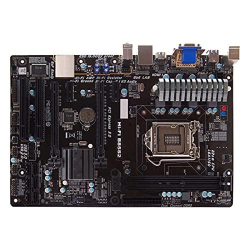 SYFANG Fit for BIOSTAR Hi-Fi B85S2 Compatible con Intel LGA1150 4Th Generation Core I7 / Core I5 Procesadores Placa Base de computadora