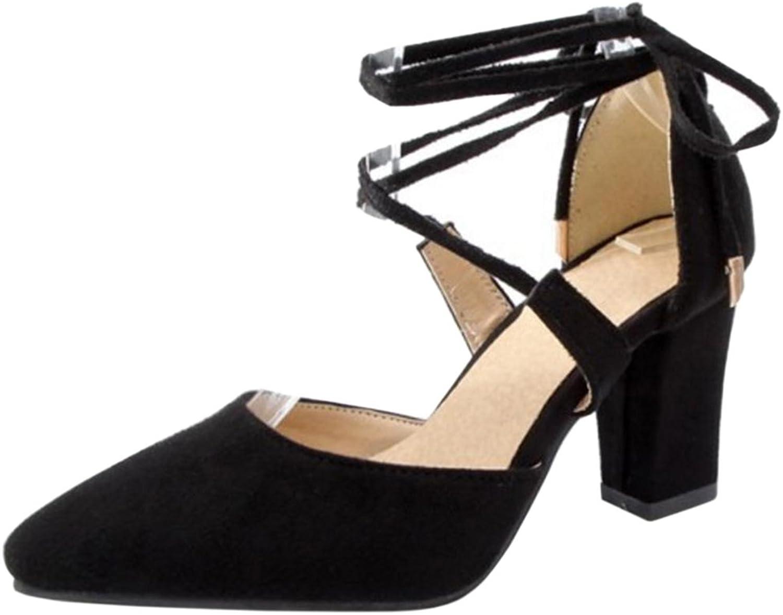 RizaBina Women Lace Up Sandals
