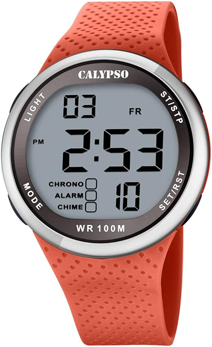 Calypso Reloj para Unisex Adulto de Cuarzo con Correa en plástico K5785/2