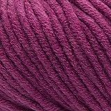 ggh Aspen | Misto Lana Merino, gomitolo da 50 g, Adatto per Maglieria e Uncinetto | Colore 080 - Rosa Amethyst