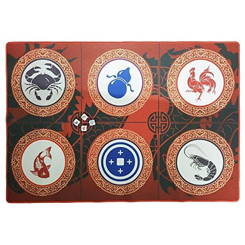 BAU Cua Ca Cop - Chinese New Year Dice Game - Fish Prawn Crab Dice Game - Lunar New Year Game