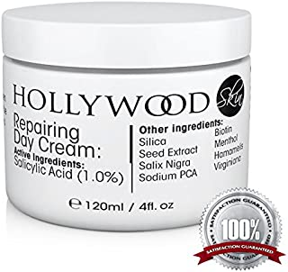 POWERFUL Acne Cream - 1% Salicylic Acid! 400% STRONGER than regular acne creams. Clinically proven to give better results, faster. The most effective acne cream for day time use available. 120ml