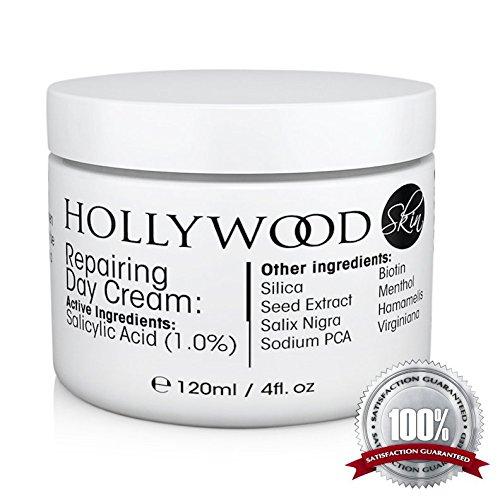 Crema Acne POTENTISSIMA - 1% di Acido Salicilico! 400% PIÙ FORTE delle altre creme contro l'acne. Clinicamente testato per dare migliori risultati più velocemente.