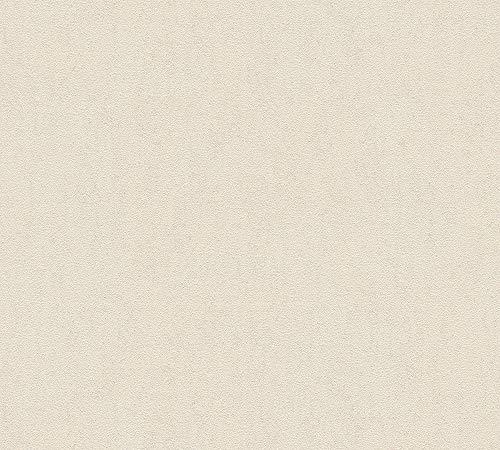 A.S. Création Vliestapete Luxury Walls Tapete Uni 10,05 m x 0,70 m beige Made in Germany 356178 3561-78