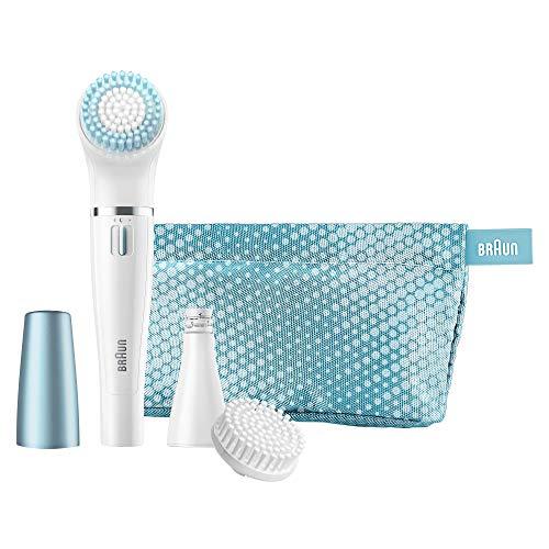 Braun Face SE832E - Set de regalo con depiladora facial y cepillo de limp