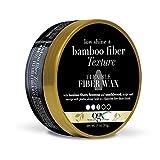 OGX Low Shine + Bamboo Fiber Texture Flexible Fiber Wax, 3 Ounce (64042)