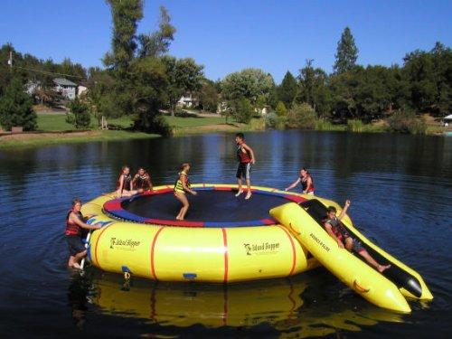 "Island Hopper 25'""Giant Jump Water Trampoline"